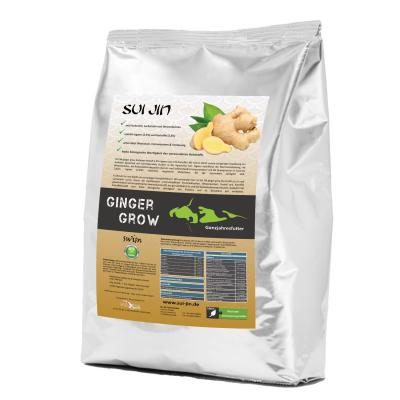 Koifutter ginger grow<br />4,5mm Pellets - 15kg